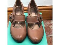 Light Brown Clark's Shoes