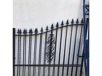 Black gates