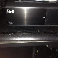 Dual tuner bell sat receiver 9242