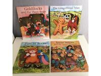 4 large 40cm children's story books