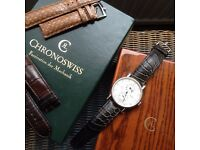 Chronoswiss Regulateur Automatic Mens swiss watch (rolex IWC Omega chronograph Breitling)