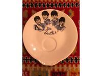 Vintage Beatles memorabilia wall plate