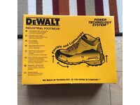 DeWalt steel toecap Men Cutter Trainer Work Shoes - Brand New with Tags and Box