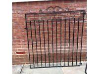 Metal solid gates