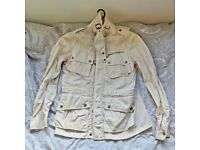 BEAUTIFUL VINTAGE ORIGINAL RALPH LAUREN Mens Coat Jacket Size M in White RARE COST £300 !