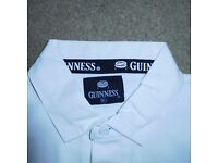 Branded Guinness Short-Sleeved Black & White 1999 World Cup Rugby Shirt