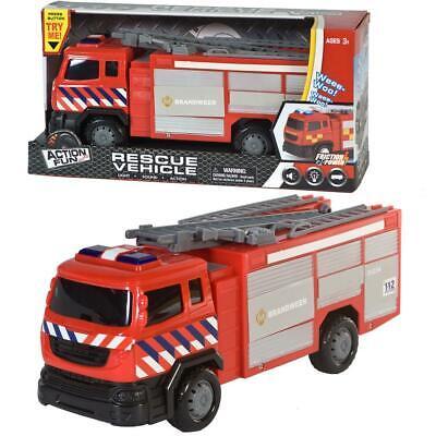Kinder Spielzeug Feuerwehr Auto mit Licht & Sound!! Neu & Ovp!!