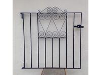 Metal railings x 3 plus gate