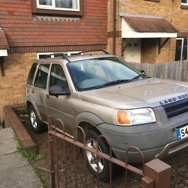 Land Rover freelander 1.8 spare parts