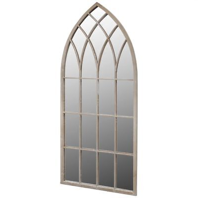 Durable Gothic Arch Garden Mirror for Both Indoor and Outdoor Use 115x50cm UK