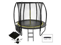 12ft trampoline FULL SET nearly new condition customer return no package collection only