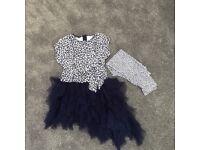 Kate Mack dress with leggings