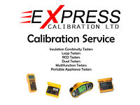Express Calibration - Multifunction testers PAT Loop RCD Insultation Continuity calibration service