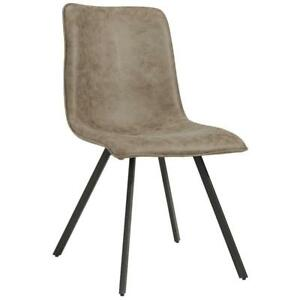 2PK Vintage Brown Side Chair Sale-WO 7707 (BD-2572)