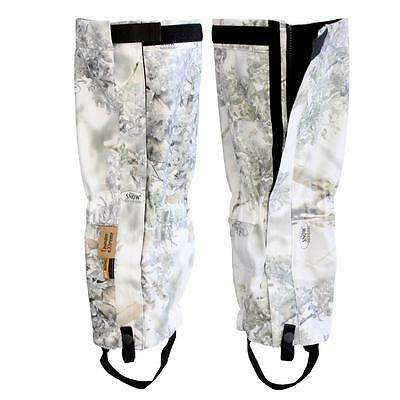 King's Camo Gaiters Snow Shadow TX Pro Weather Waterproof KCM2129-SS