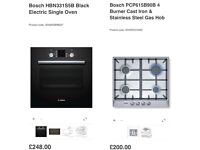 Bosch oven and hob (brand new in box)