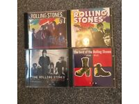 4 Rolling Stones CDs.. Like New.