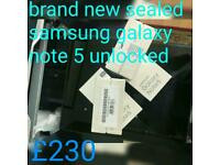 Brand new sealed samsung galaxy note 5 32gb unlocked