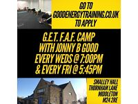 Good Energy Training | Bootcamp Personal Training Program | x3 classes/week | 50% off your 1st month