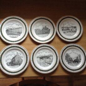 Display plates of Gosport