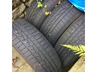 4 Winter tyres, Good condition. Bought for a Renault Scenic. Kendal