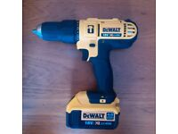 Dewalt combi drill 18v DCD776 Brand New