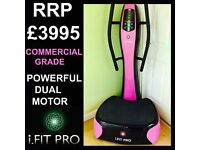 RETAILED @ £3995 SUPERIOR TO FLABELOS - COMMERCIAL GRADE VIBRATION VIBRATING POWER PLATE MACHINE