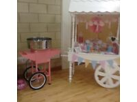 Bouncy Castle and Candy Cart and Donut wall hire