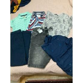Boys bundle clothes 9-10