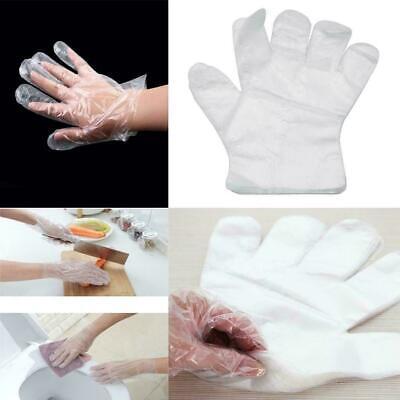 100 Stück Einweghandschuhe Tankhandschuhe PE Handschuhe Einmalhandschuhe
