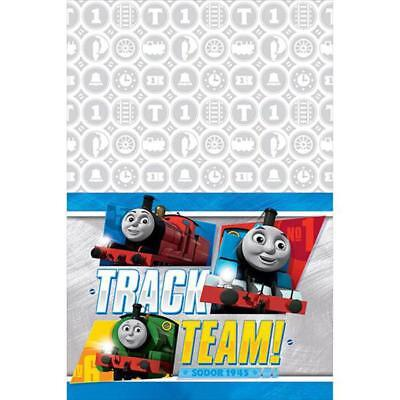 Thomas the Train All Aboard Plastic Table Cover 1 Ct Birthday Party Supplies New