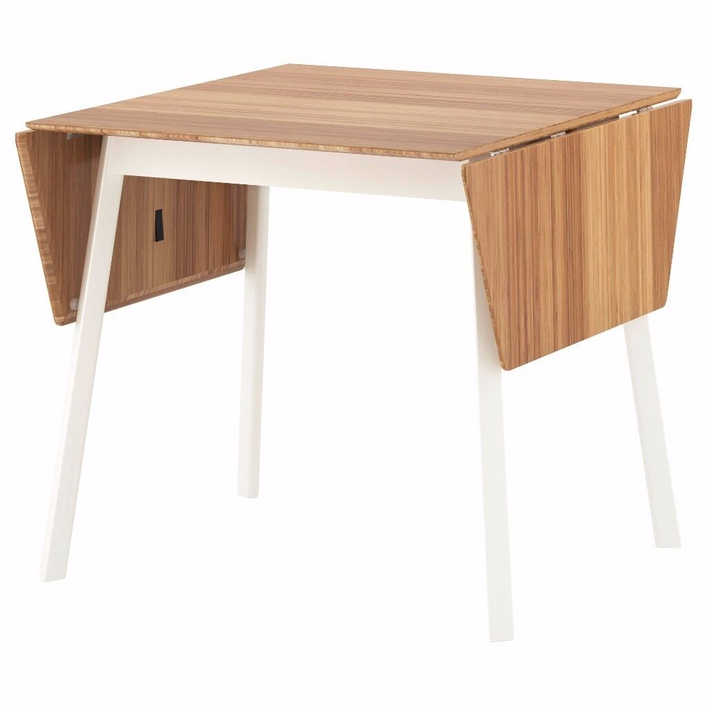 Ikea 4 Person Table Part - 9: IKEA PS 2012 4 person dropleaf dining table