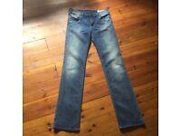 Diesel women's designer jeans size 32