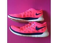 Nike free 5.0 flex trainers