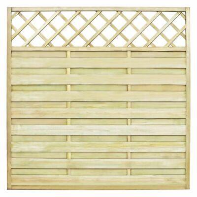 vidaXL Square Garden Fence Panel with Trellis 180x180 cm Wood Climbing Plants