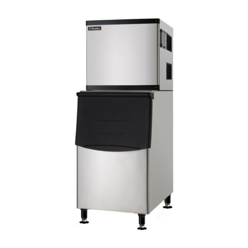 Commercial Ice Machine - Full Cube with Storage Bin - 350 lb.