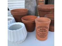 Job lot (Pots, garden furniture)