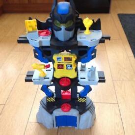 Imaginext DC Super Friends Transforming Batcave Playset bundle,bat ar,bat plane,jokers helicopter