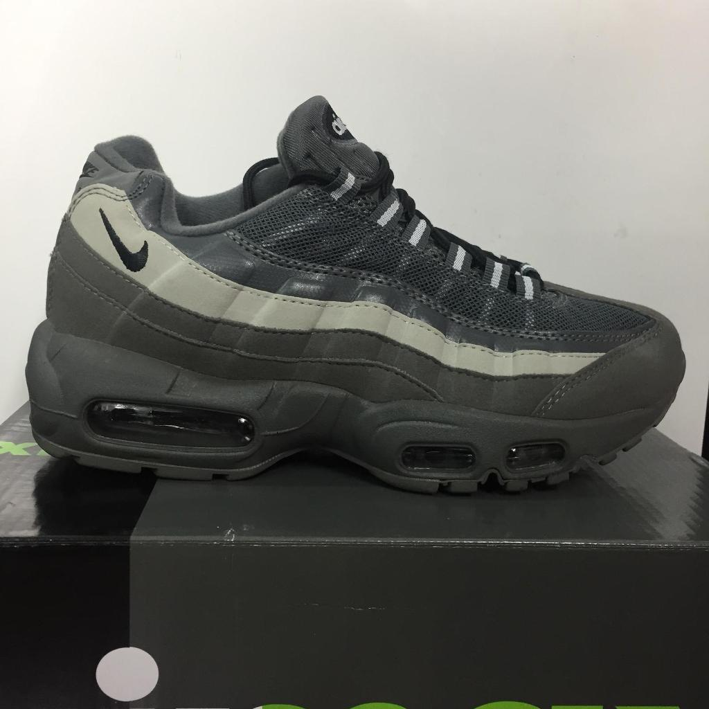 timeless design f17e5 a95ba Nike Air Max 95 Grey/Green Sizes 6,7,8,9,10,11 | in Croydon, London |  Gumtree