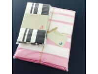 NEW exception quality Jamie Oliver stripe tablecloth and napkin set