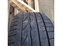 Ford steel wheel and tyre