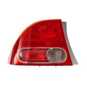 New 2006 2007 2008 Honda Civic Tail Light