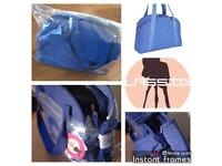 SALE Joblot of 10 designer changing bags LASSIG Blue Star Jean RRP £79.99 each!! Buy now! AUTHENTIC