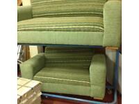 Sofa 3/2 fabric £65