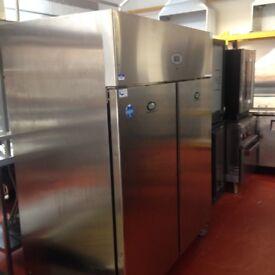 Foster Heavy Duty Upright Double Door Stainless Steel Freezer