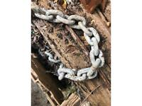 "150ft x 3/8"" anchor chain"