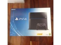 PS4- 500gb - 1 Controller - all cables - boxed with 12 top titles