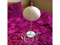 IKEA beautiful white table lamp, like new