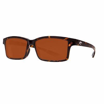 19286f6151 New Costa Del Mar Tern Polarized Sunglasses 400P Retro Tortoise Vermillion