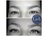 High quality semi-permanent eyelash extensions